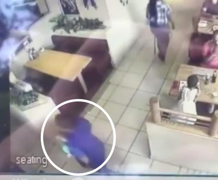 porwanie dziecka z restauracji