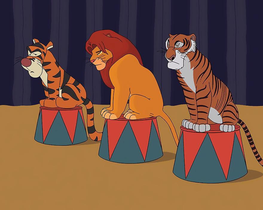 Król Lew i Tygrysek