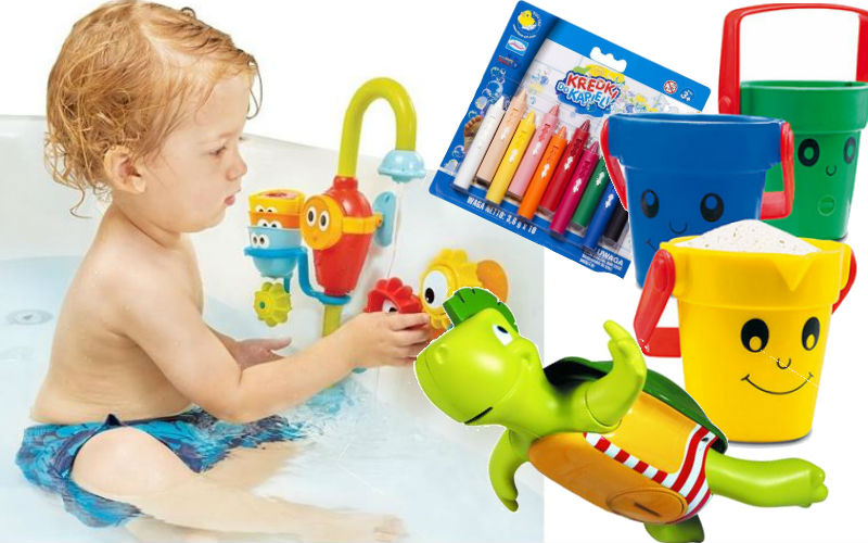 Zabawki do kąpieli, które uwielbiają nasze dzieci. Twoim także się spodobają!