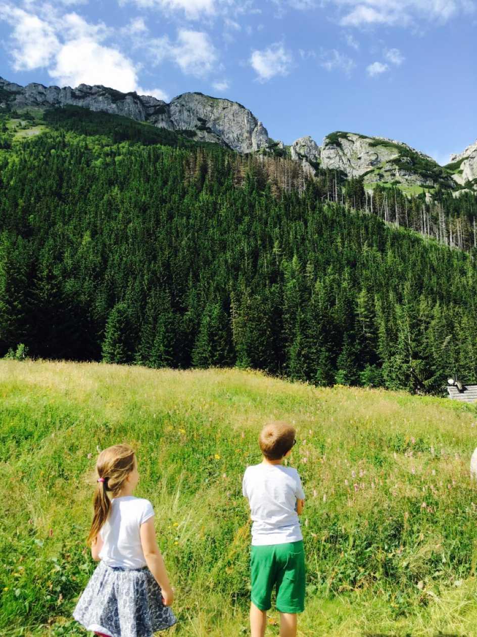 W góry z dzieciakami