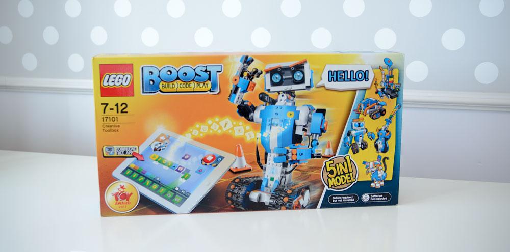 LEGO BOOST – klocki, które uczą programować