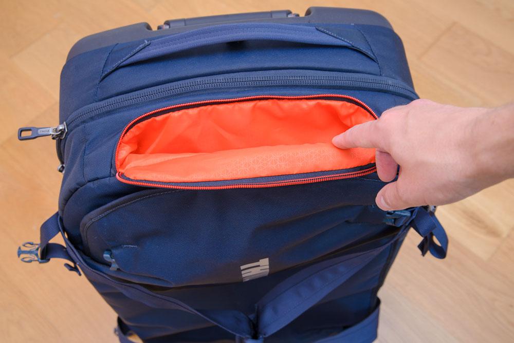 podreczna kieszonka walizka