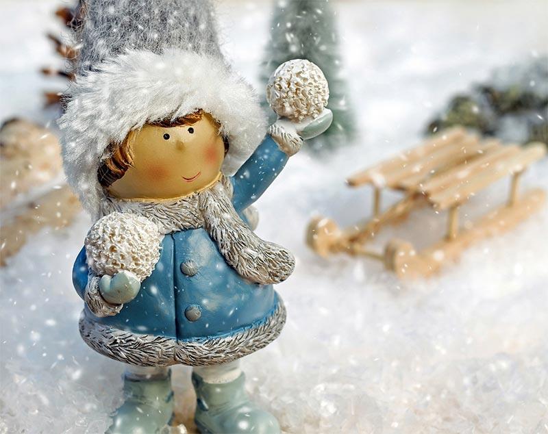 śnieg w wigilię