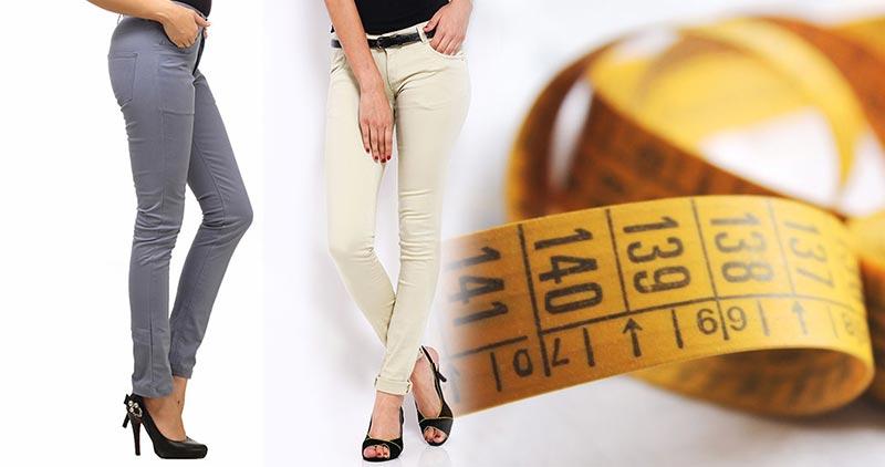 Jak czytać rozmiary spodni?