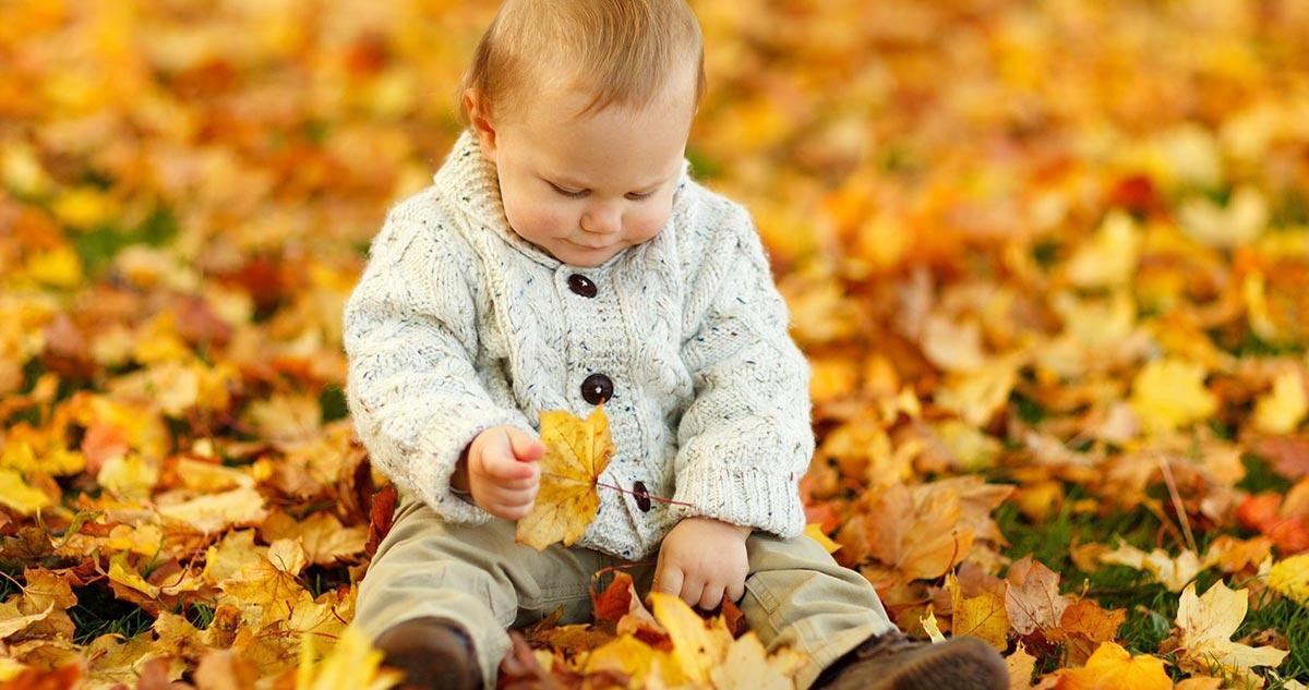 Jesienne ubranka dla niemowląt
