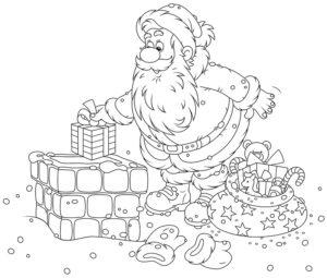 Kolorowanki Świąteczne: Boże Narodzenie