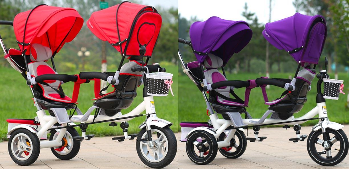 Rowerek dla bliźniaków