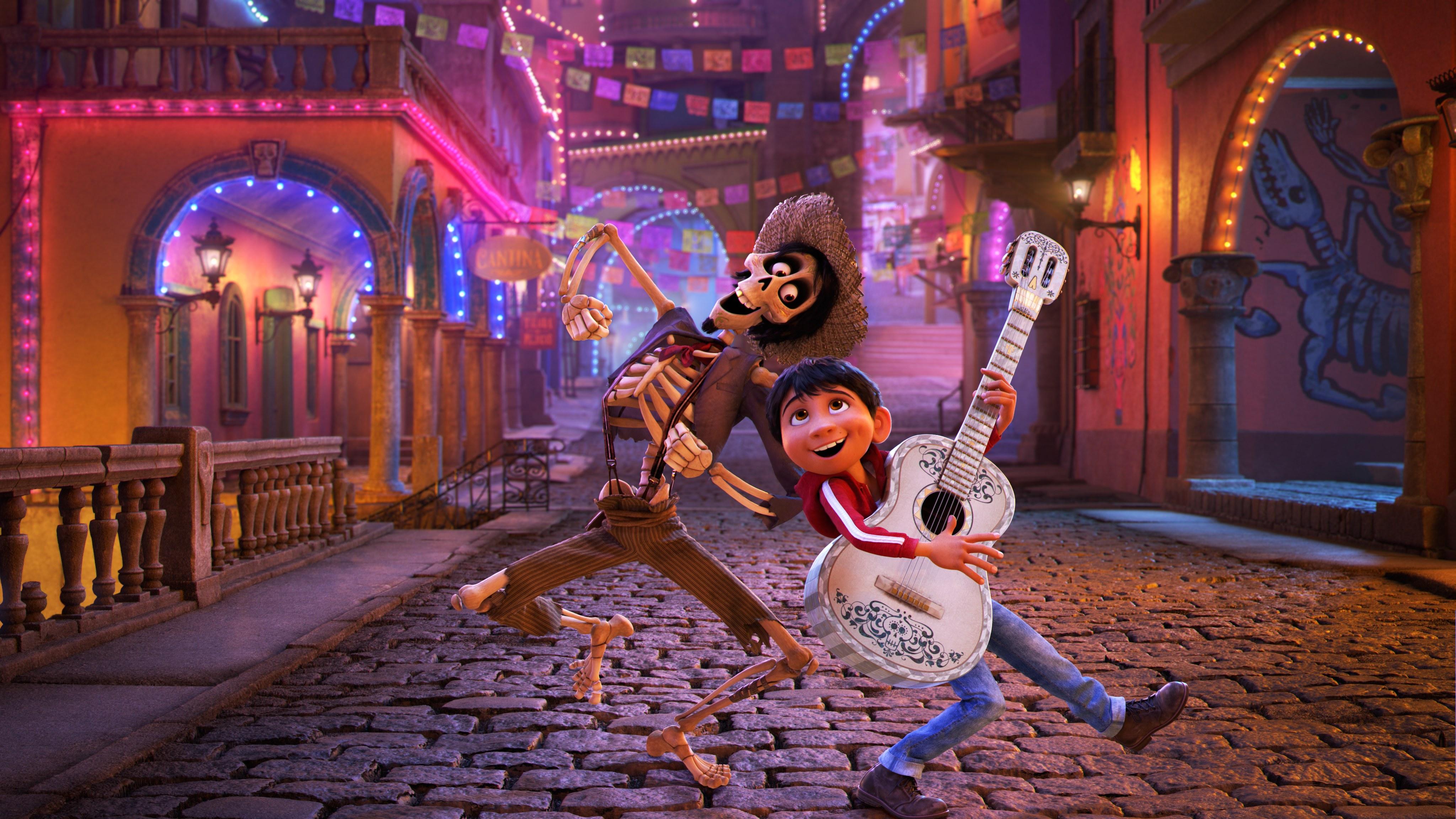 Coco. Jedna z najlepszych animacji 2017 roku.
