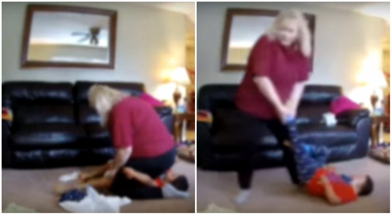 Kamera miała sprawdzić, jak opiekunka zajmuje się dzieckiem. Matka była zszokowana tym, co zobaczyła!