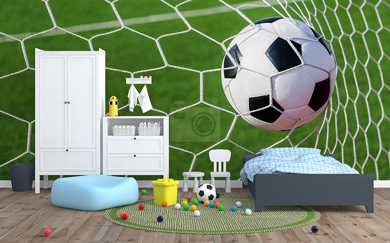 Jak urządzić pokój małego fana piłki nożnej?