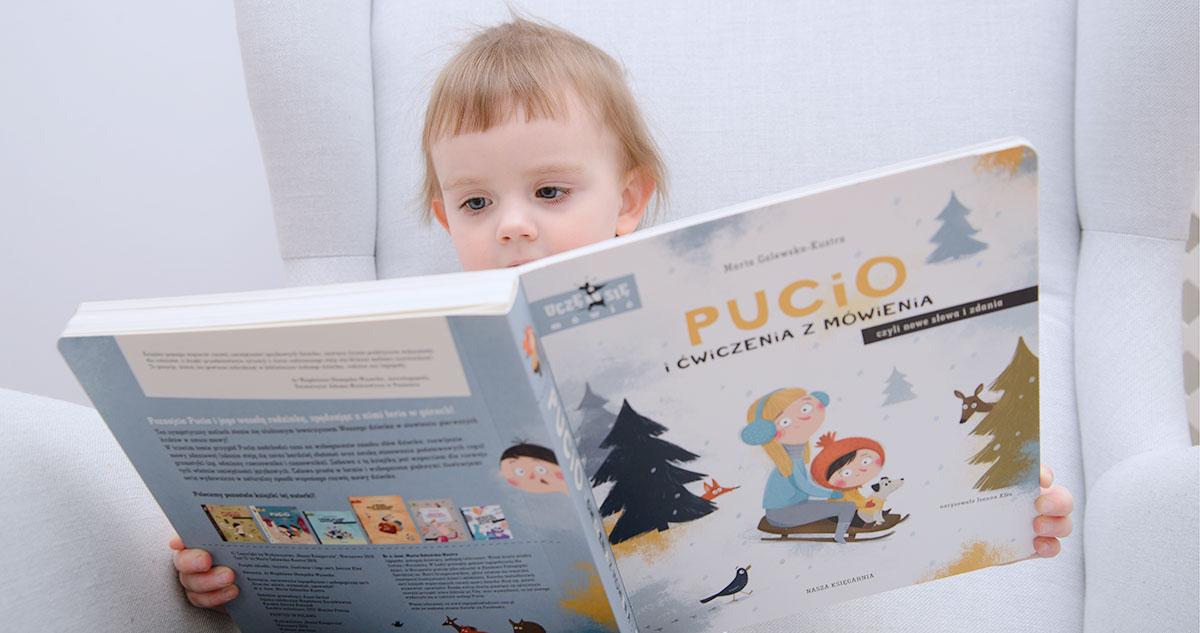 """Recenzja rodzica: """"PUCIO i ćwiczenia z mówienia, czyli nowe słowa i zdania"""""""