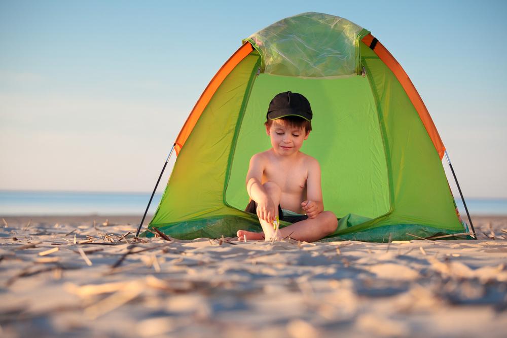 Wybieramy namiot plażowy dla dzieci