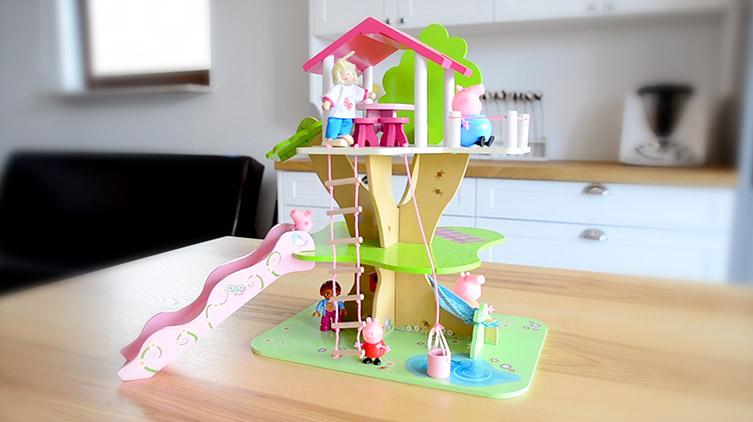 domek na drzewie dla 3 latki