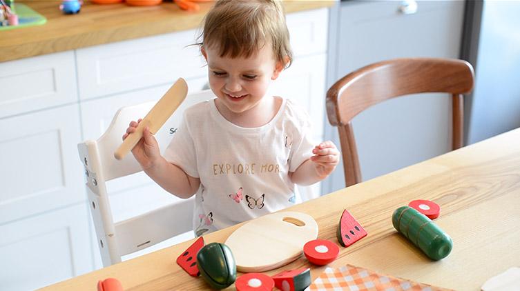owoce do krojenia dla dzieci na rzep