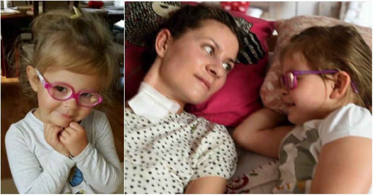 """""""Wierzyłam, że mamusia nie prześpi Dnia Matki"""". Mama Zosi obudziła się ze śpiączki tuż przed 26 maja 2018! Kobieta nadal potrzebuje pomocy"""