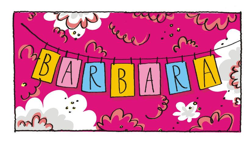 Imię Barbara [Znaczenie, pochodzenie, imieniny]