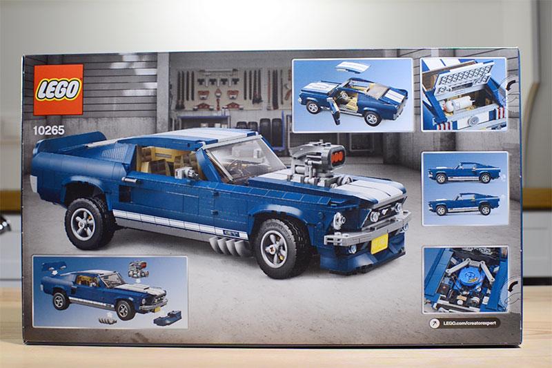 Modyfikacje LEGO Mustang