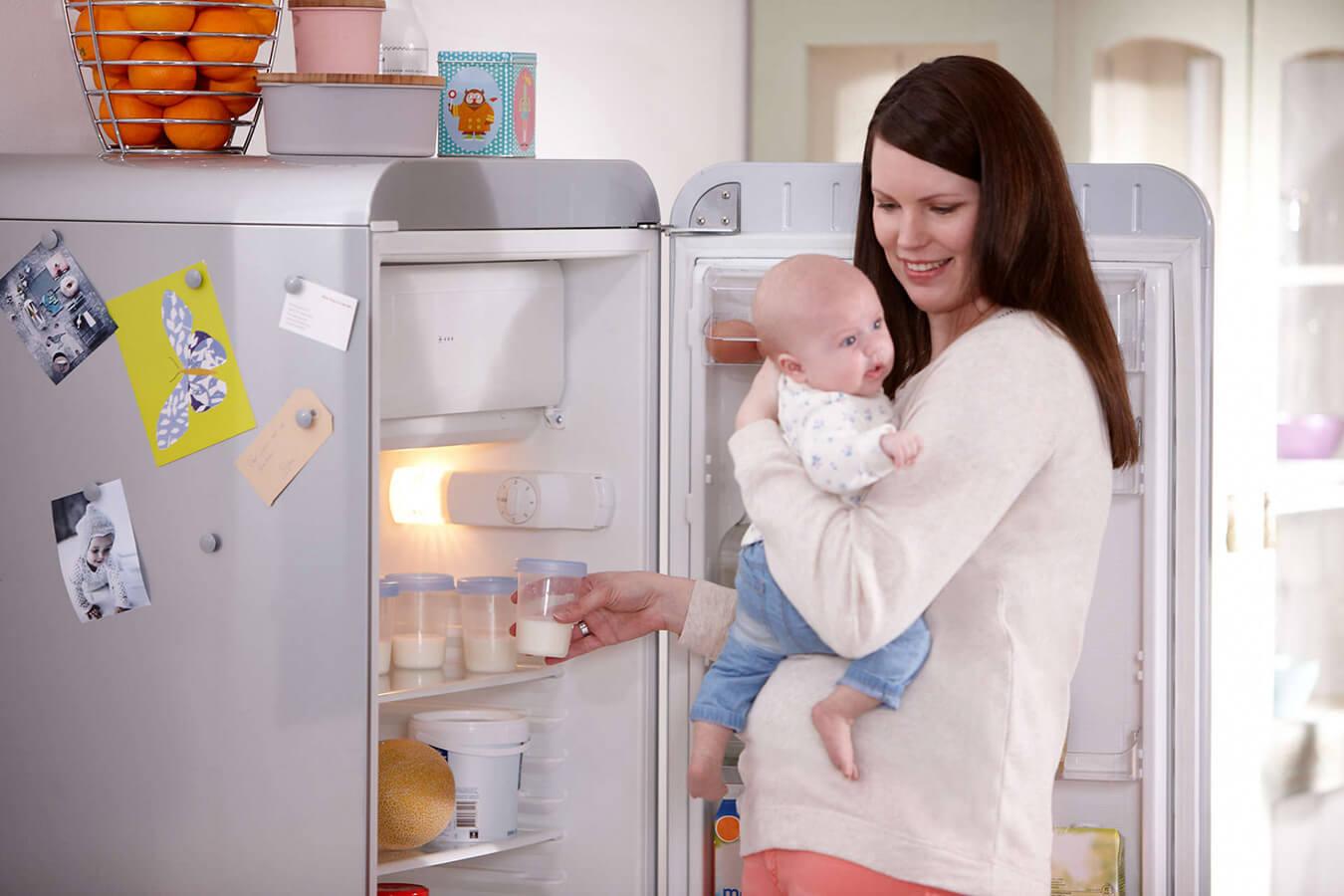 Przechowywanie mleka matki – jak i ile można przechowywać pokarm?