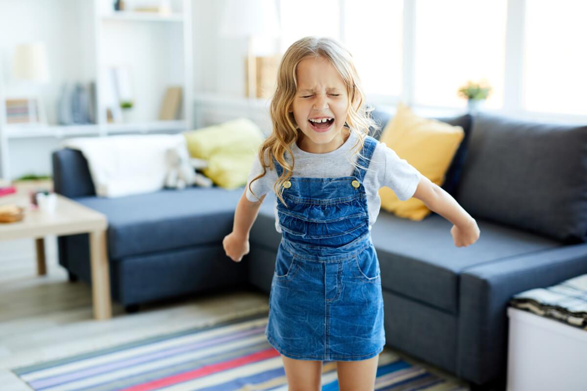 Co robić, gdy dziecko krzyczy ze złości?