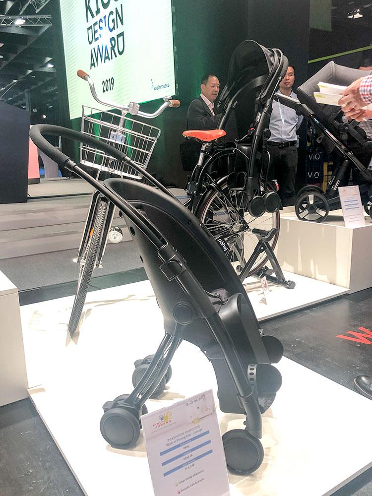 wózek fotelik rowerowy