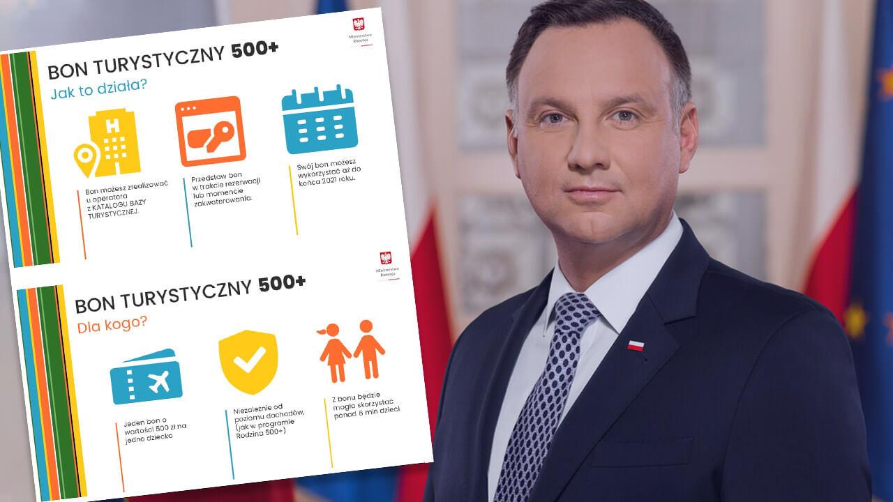Bon 500 zł na wakacje! Najważniejsze szczegóły programu