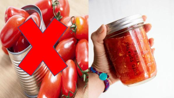 pomidory z puszki dla dzieci