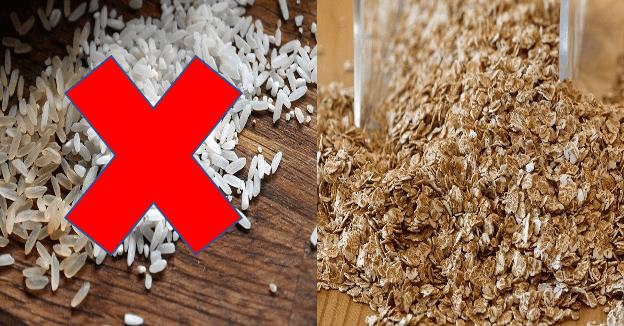 płatki ryżowe dla dziecka