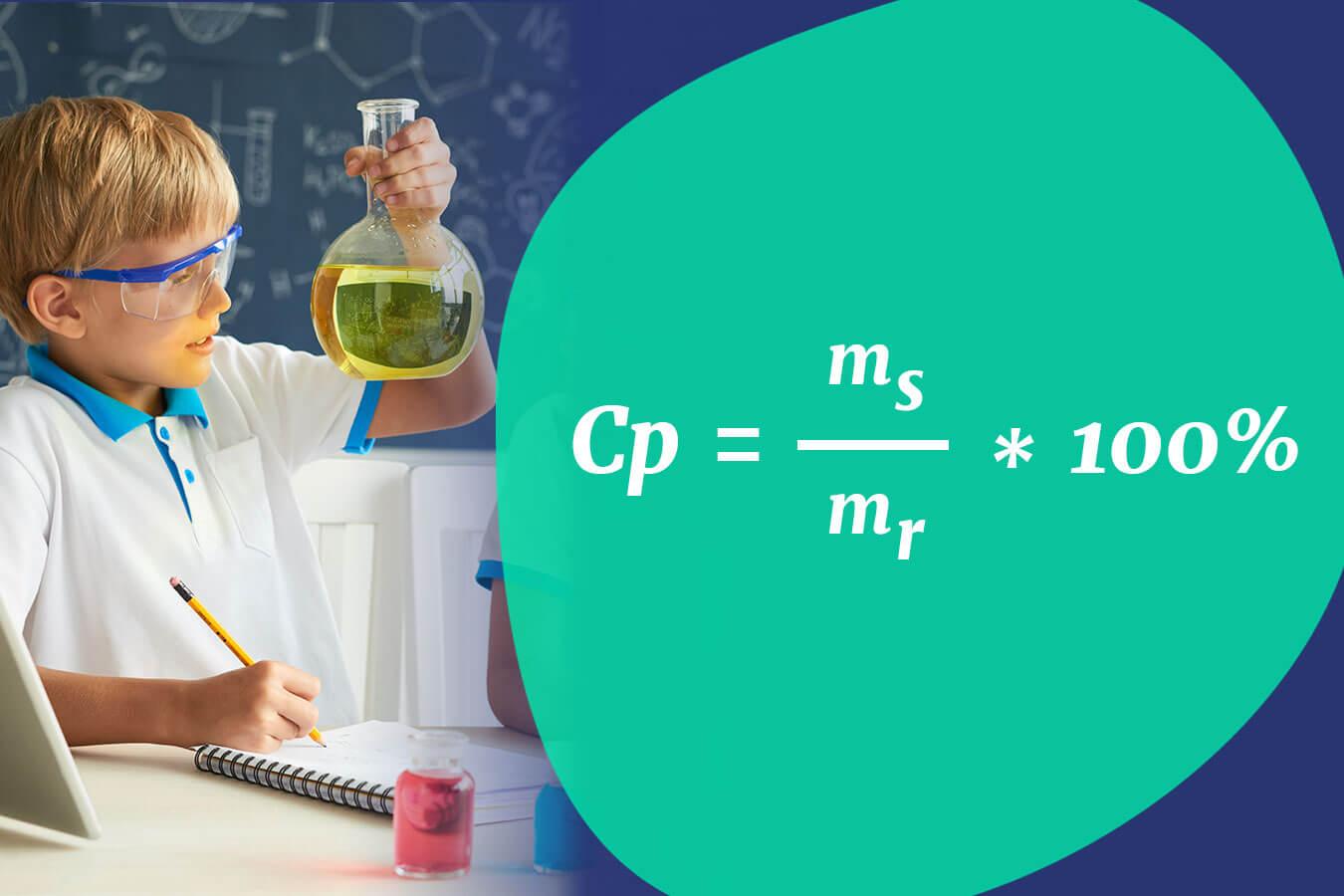 Wzór na stężenie procentowe [Chemia Cp]