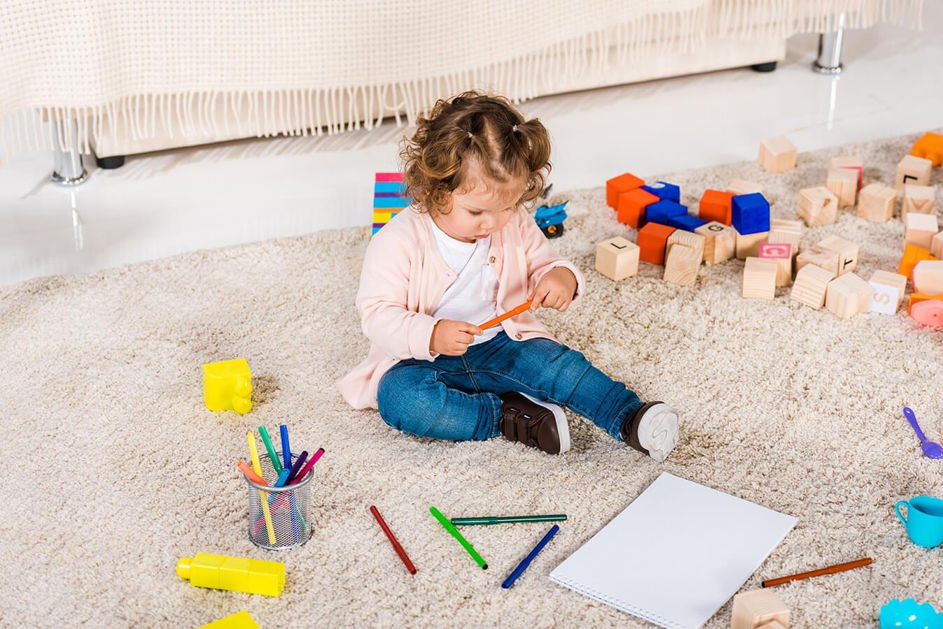 Czyszczenie dywanów – czyli wiedza szczególnie ważna dla rodzica