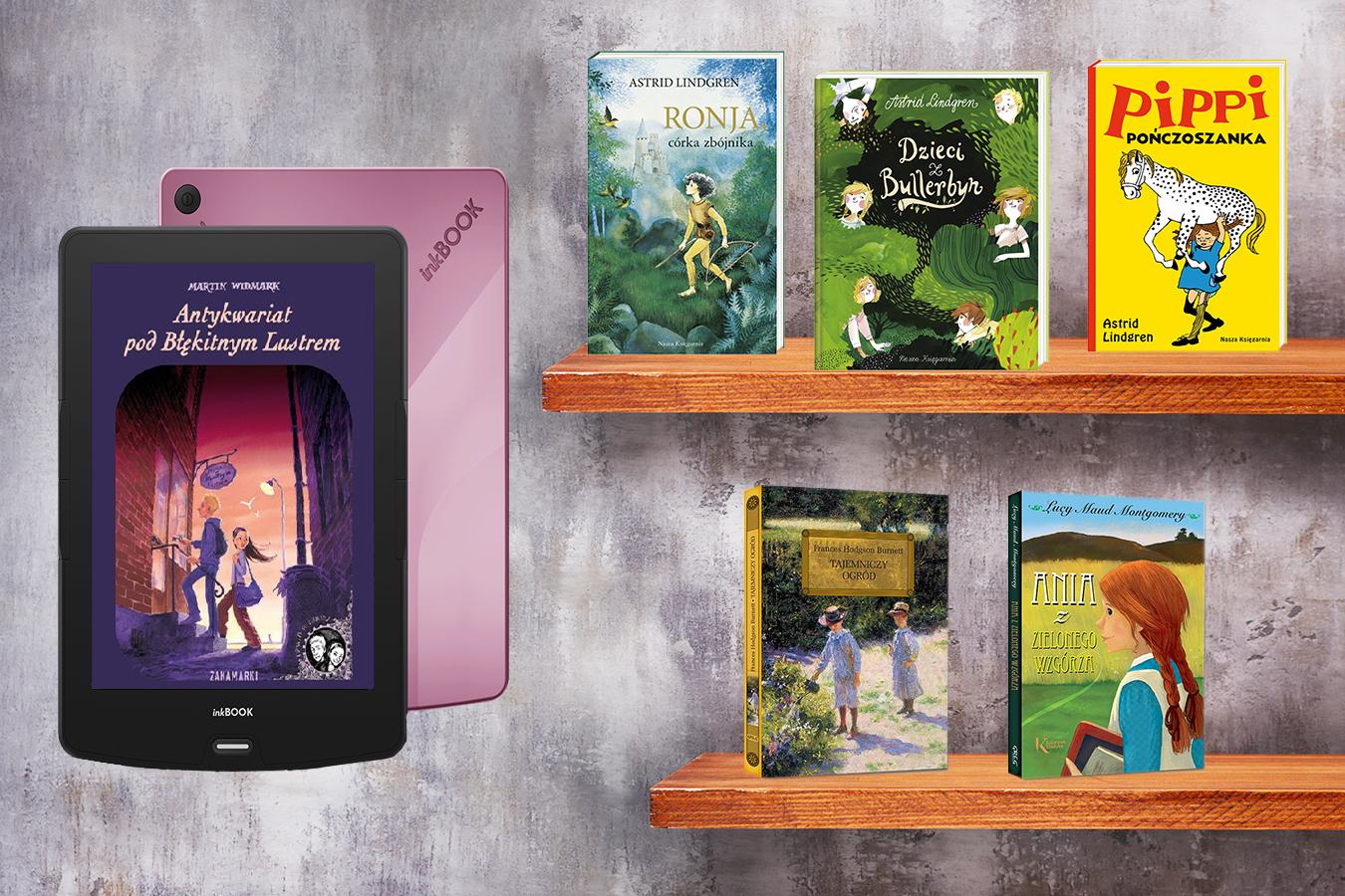 Te książki dla 8 letniej dziewczynki rozwiną jej wyobraźnię [Przegląd inkBOOKa]