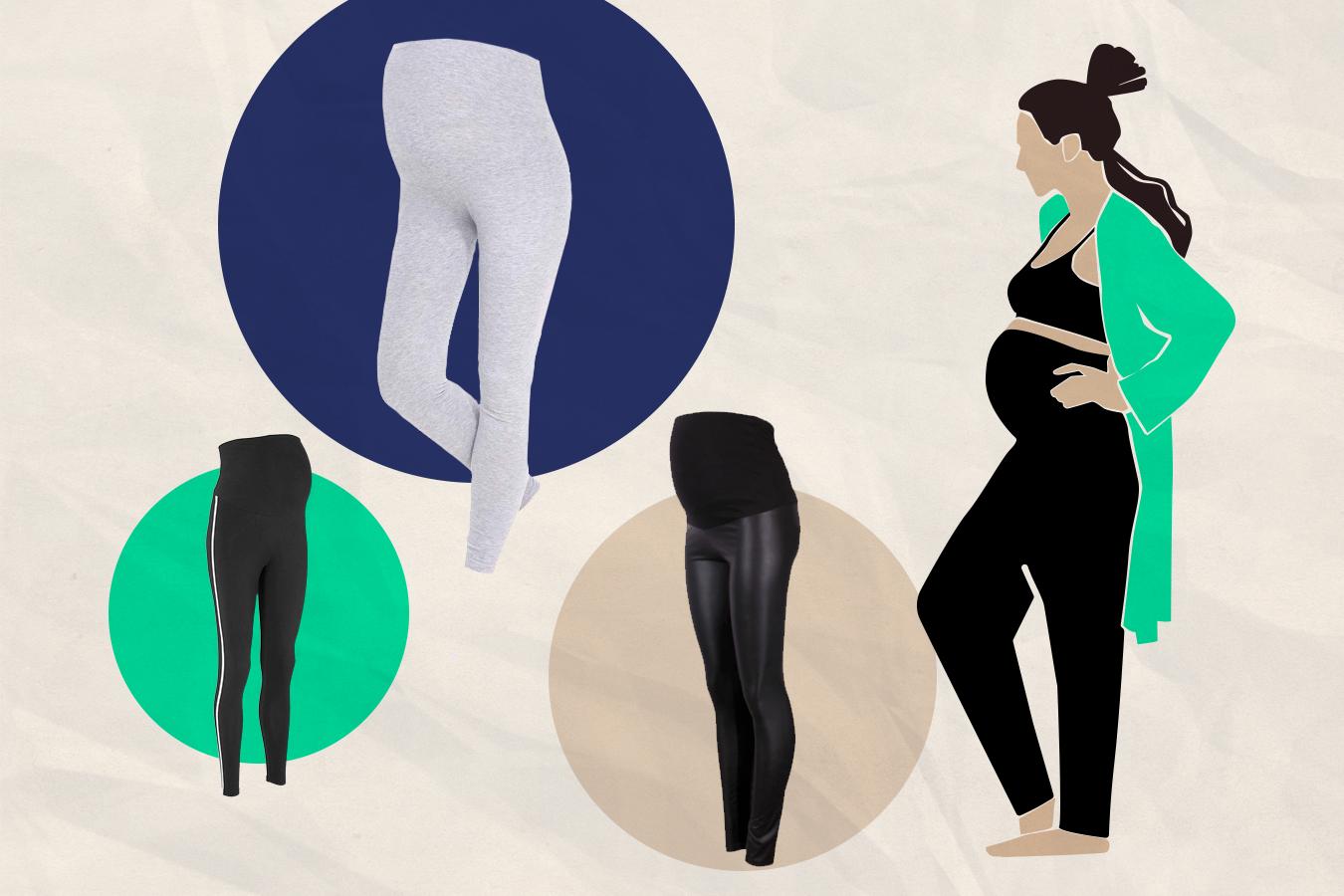 Legginsy ciążowe – top 8 najwygodniejszych modeli na każdy tydzień ciąży. Pomieszczą wszystko!