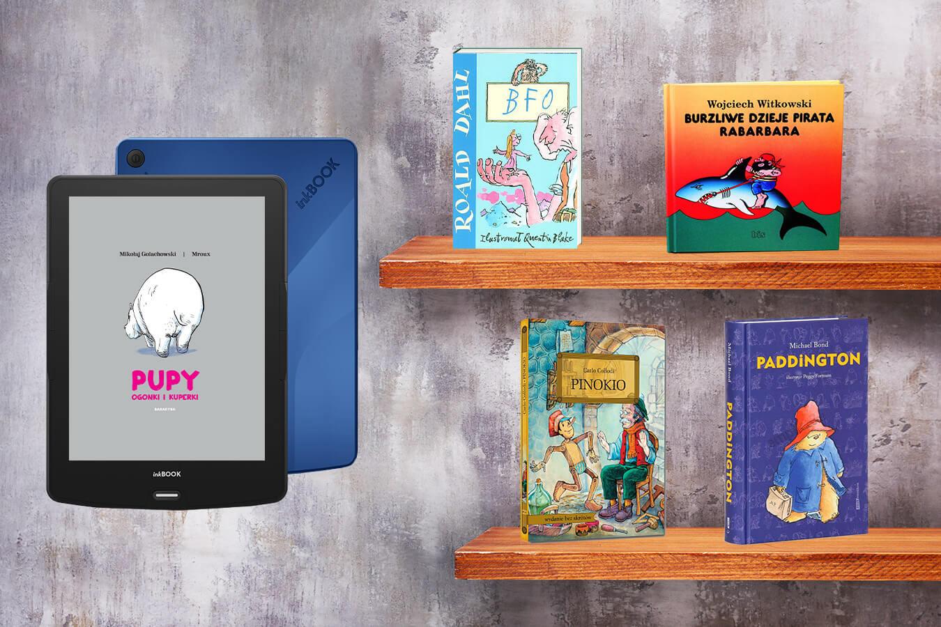 Książki dla sześciolatków – od których zacząć, by obudzić w dziecku małego czytelnika? [przegląd inkBOOKa]