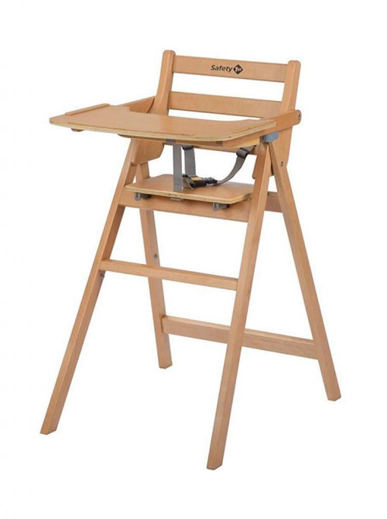 drewniane krzesełko do karmienia