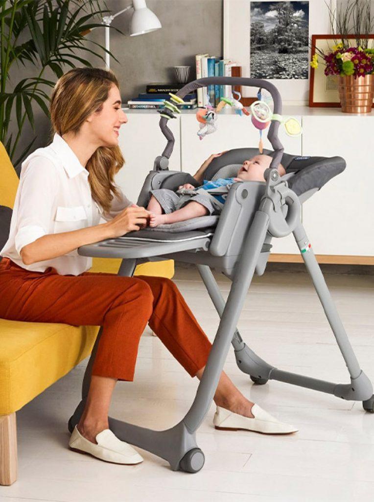 krzesełko do karmienia dla niemowląt