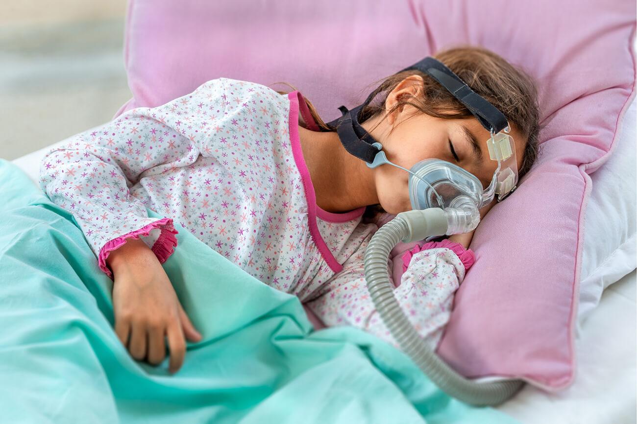 Obturacyjny bezdech senny u dzieci – wspomaganie aparatem CPAP