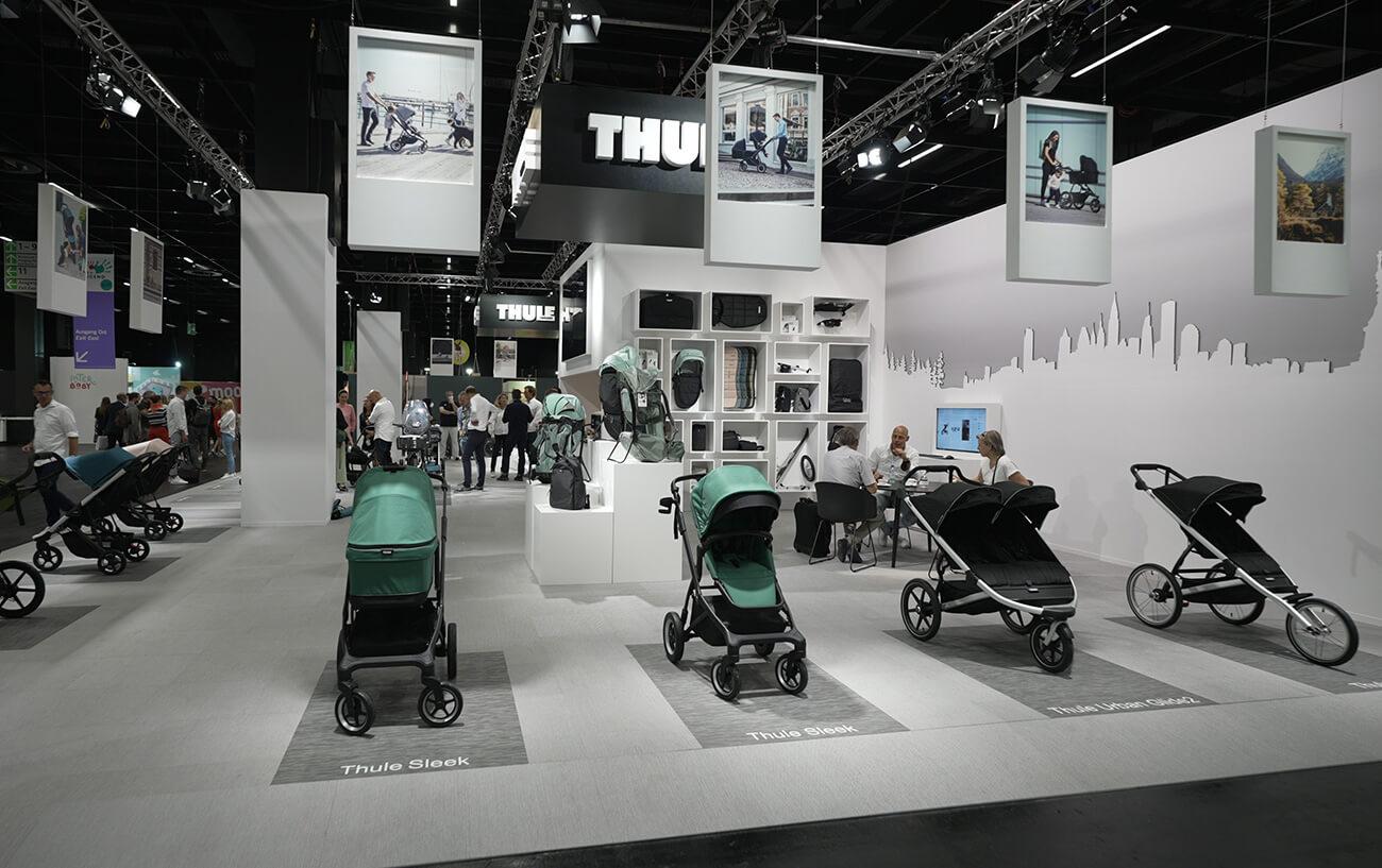 Poznaj nowości marki Thule zaprezentowane na największych w Europie targach dziecięcych – Kind + Jugend