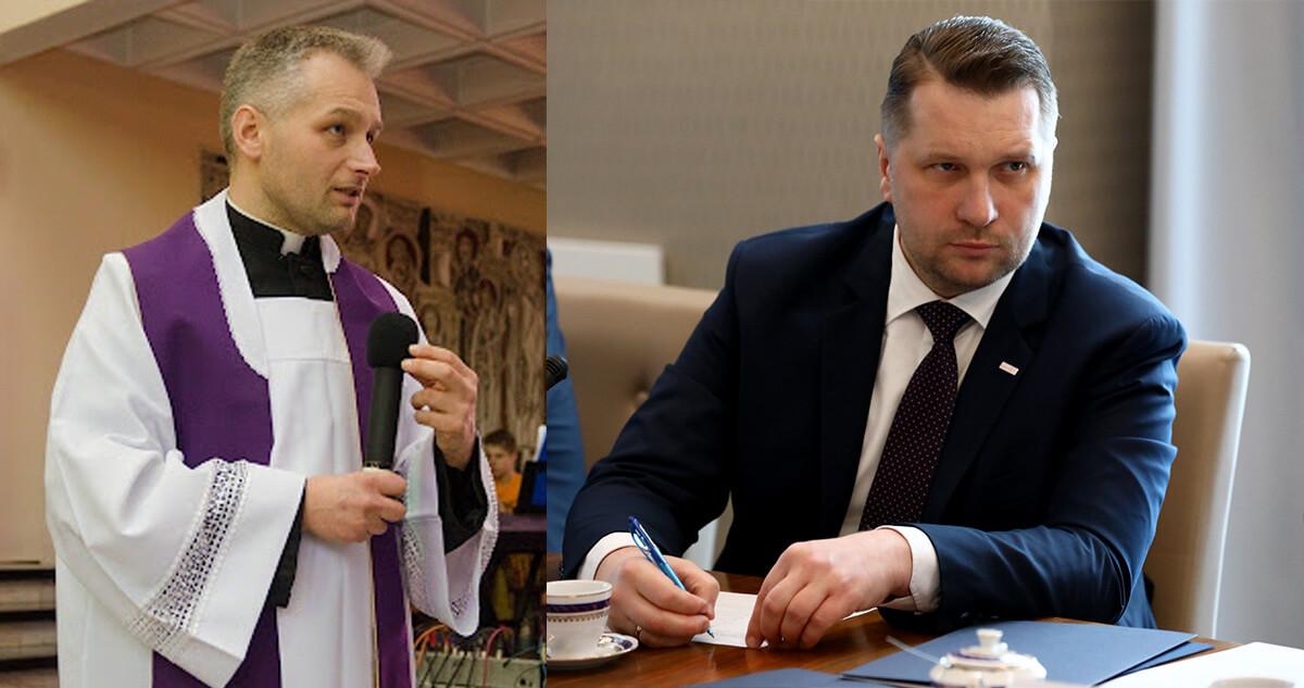 Ksiądz egzorcysta otrzyma 170 tys. złotych od ministra edukacji na prowadzenie telefonu zaufania dla uczniów