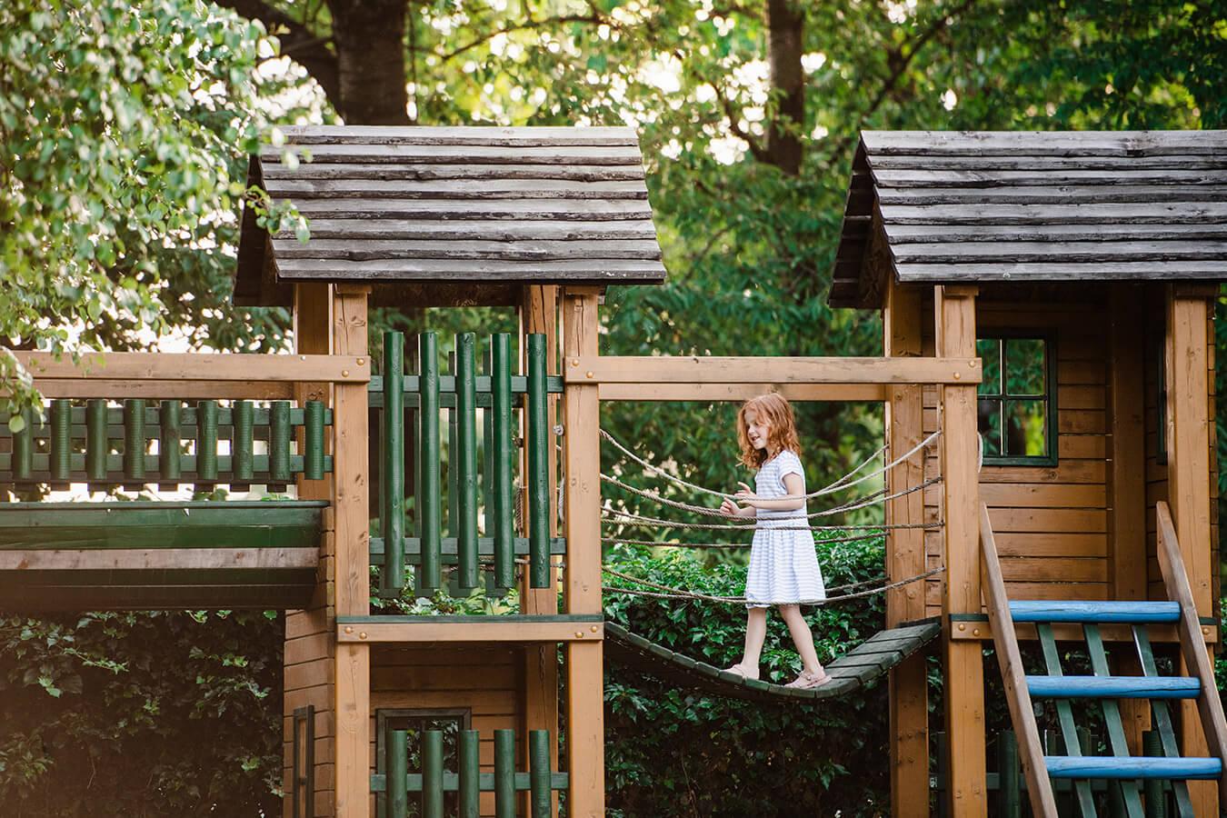 Plac zabaw dla dzieci do ogrodu