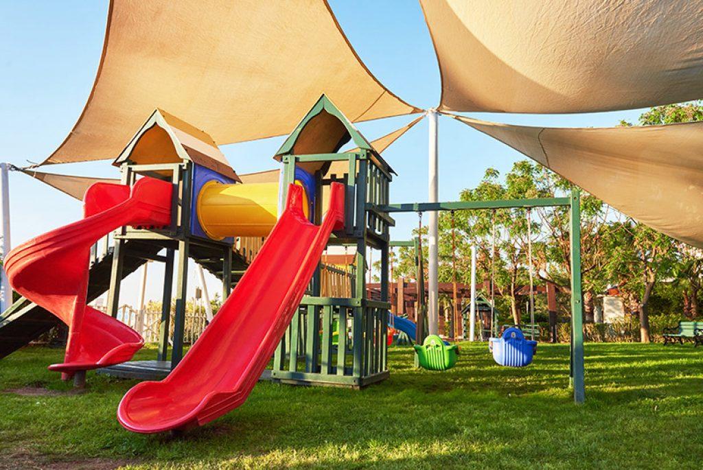 Place zabaw dla dzieci do ogrodu