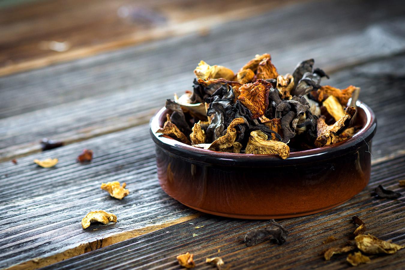 Przechowywanie suszonych grzybów – Jak przechowywać suszone grzyby?